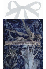 W.F. Peters Elfje wandtegel Queen of the bad Faeries (by Brian Froud)