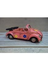 W.F. Peters Cabriolet roze 15x6x5,5 cm