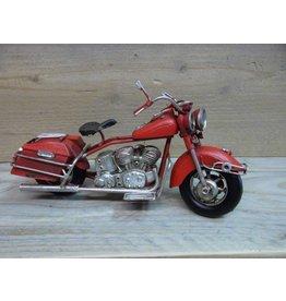W.F. Peters Motor rood 19x7,5x11 cm