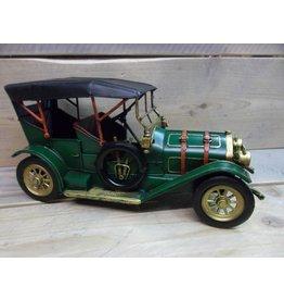 W.F. Peters Oldtimer groen 33x14x17 cm