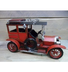 W.F. Peters Oldtimer rood 33x16x20 cm