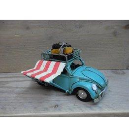 W.F. Peters Auto met luifel 15x6x8,5 cm
