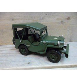 W.F. Peters Leger Jeep 17x7,5x8 cm