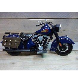 W.F. Peters Motor blauw 41,5x19,5x21,5 cm