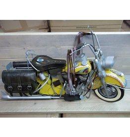 W.F. Peters Motor geel 87x28x44 cm
