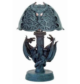 W.F. Peters Draken lamp hg 40 cm