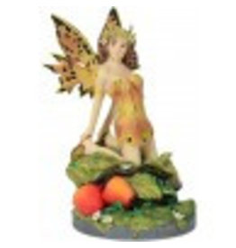 W.F. Peters A salons gold fairy by Linda Ravenscroft hg 15 cm