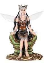 W.F. Peters Fairysite Elfje Queen of the Wood by Renee Biertempfel hg 12 cm