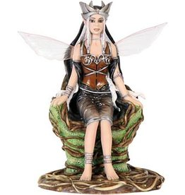 W.F. Peters Fairysite Elfje Queen of the Wood by Renee Biertempfel hg 12 cm