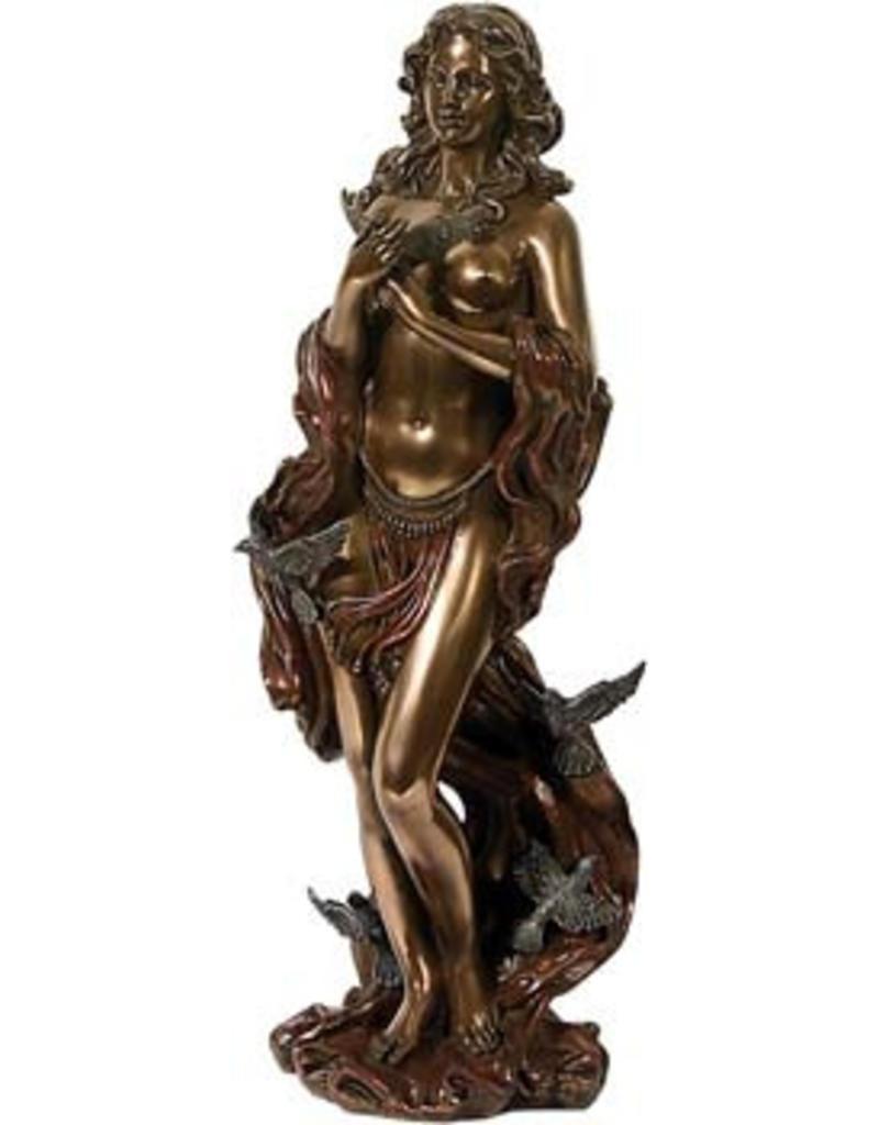 W.F. Peters Aphrodite (Godin van de liefde) bronskl.hg 30 cm