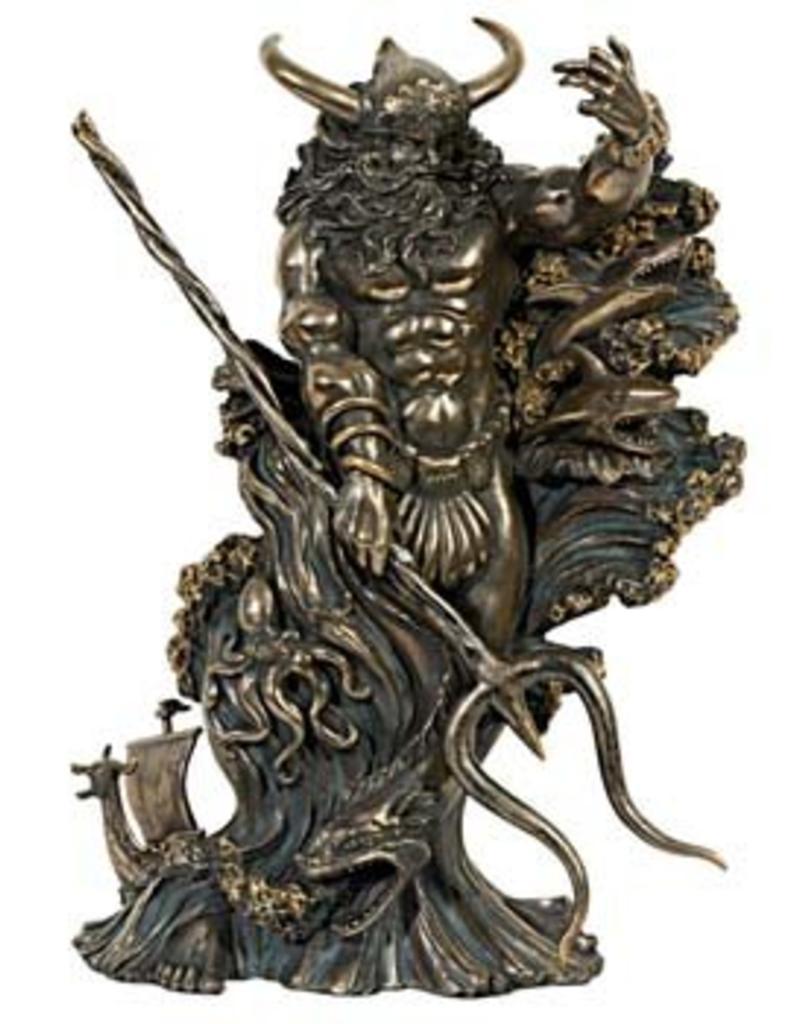 W.F. Peters Aegir (reus uit Noordse mythologi) hg 26 cm