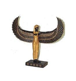 W.F. Peters Isis staand met wijde vleugels hg 22- br 24 cm