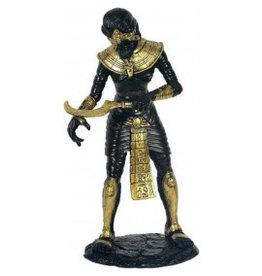 W.F. Peters Mumie zwart/goud hg 26 cm
