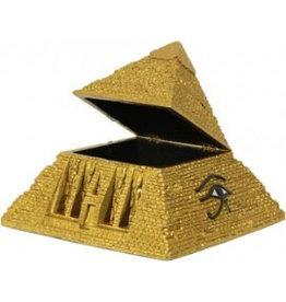 W.F. Peters Pyramide sieradendoos hg 15 lg en br 18 cm