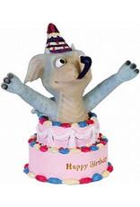 W.F. Peters Funny Dragon - Happy birthday  hg ca 11 cm