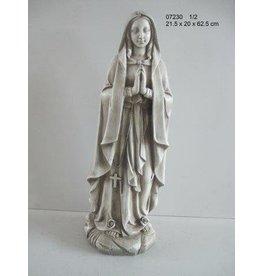 W.F. Peters Lourdes  grijs antiek 22x20x63 cm