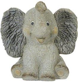 W.F. Peters Tuinbeeld olifant klein