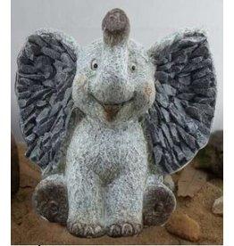 W.F. Peters Olifant klein hg ca 21 cm lg ca 23 cm