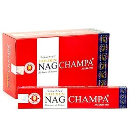 W.F. Peters Golden Nag Champa wierook 15 grams