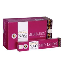 W.F. Peters Golden Nag Meditatin wierook 15 grams