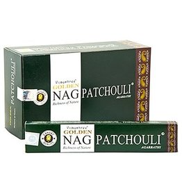 W.F. Peters Golden Nag Patchouli wierook 15 grams