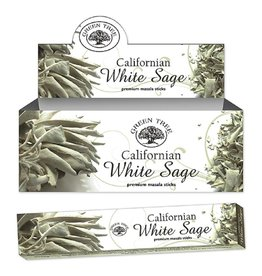 W.F. Peters Green Tree Californian White Sage Natural wierook 15 grams