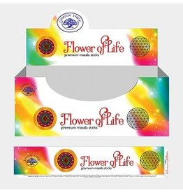 W.F. Peters Green Tree Natural Masala Flower of Live wierook 15 grams