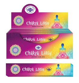 W.F. Peters Green Tree Chakra Lotus wierook 15 grams