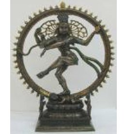 W.F. Peters Shiva hg 27,5 cm gekleurd