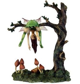 W.F. Peters Dragons.Elfje Bottos Up by J.Collen Tarolly lg 13 hg 17,5 cm Lim.Edit.4800 st