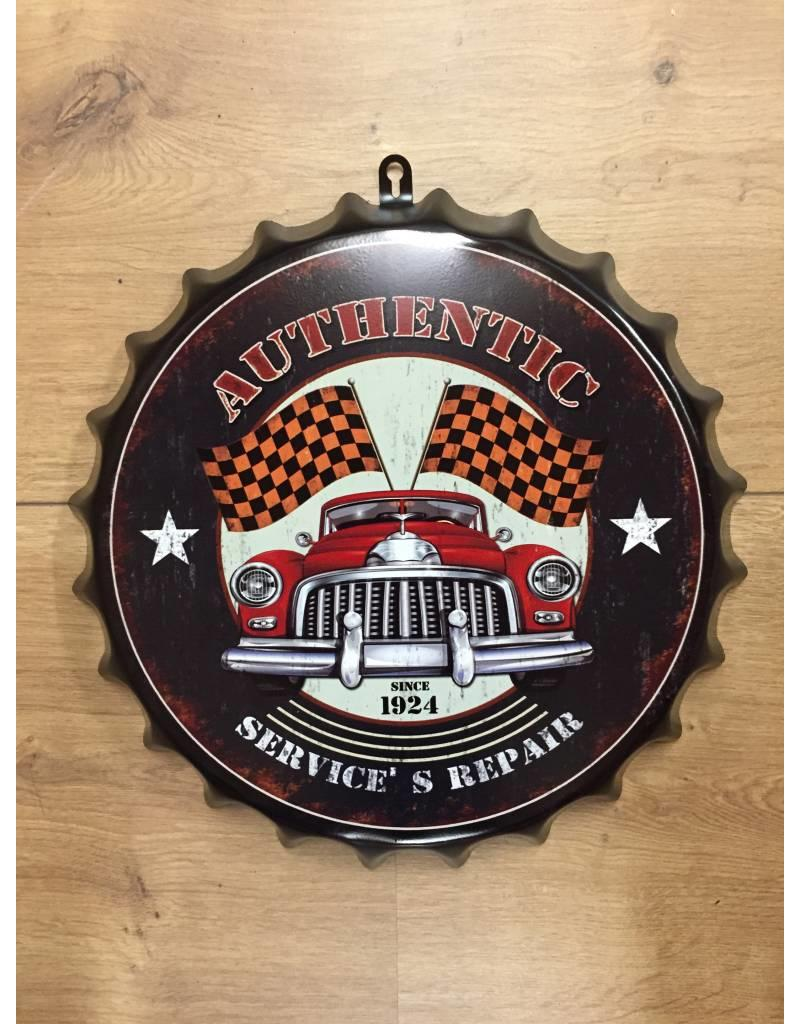W.F. Peters Beer cap ''Authentic since 1924''