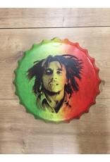 W.F. Peters Beer cap'' Bob Marley''
