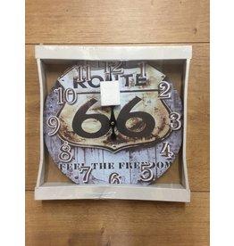 W.F. Peters Klok ''Route 66 feel the freedom''