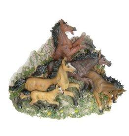3d Paarden wandplaat