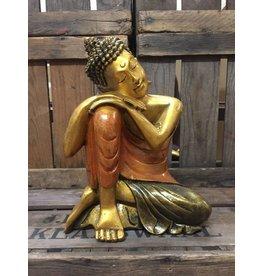 W.F. Peters Denkende Buddha (oranje)