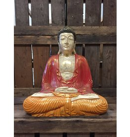 W.F. Peters Zittende Buddha lotus houding