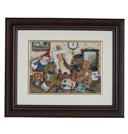 H.Originals Beer schilderij 30 X 25 CM 1 assortiment