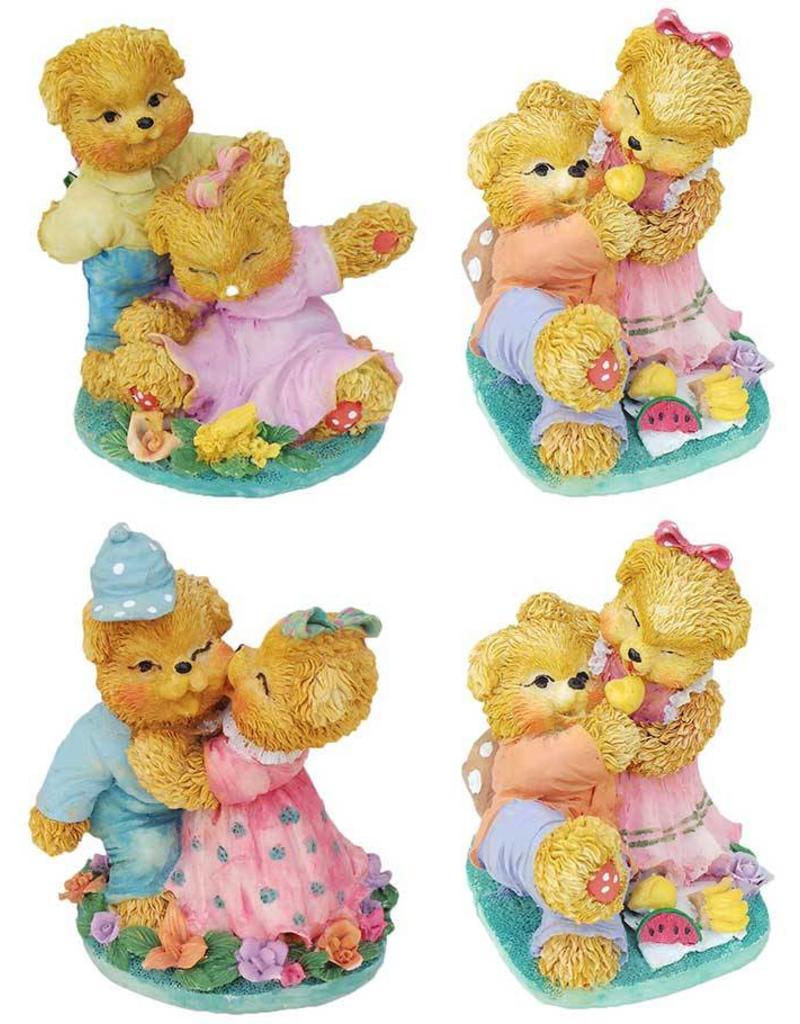H.Originals Twee beren 10 X 8 CM 4 assortiment