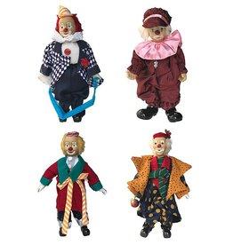 H.Originals Clown staand 38 X 24 CM 3 assortiment