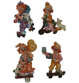 H.Originals Magneet clown 10 X 5 CM 4 assortiment