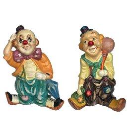 H.Originals Clowns spaarpot 26 X 18 CM 2 assortiment