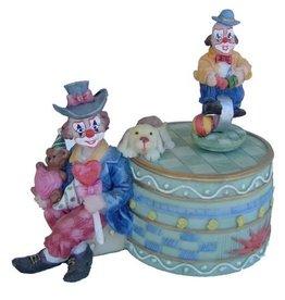 H.Originals Speeldoos clown 13 X 13 CM 1 assortiment