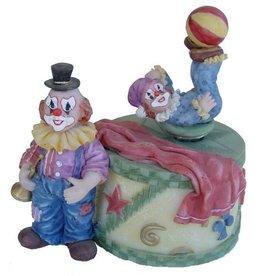 H.Originals Speeldoos clown 28 X 15 CM 1 assortiment
