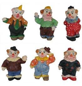H.Originals Mini Clown 4 X 2 CM 6 assortiment