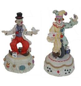 H.Originals Clown speeldoos  X 10 CM 3 assortiment