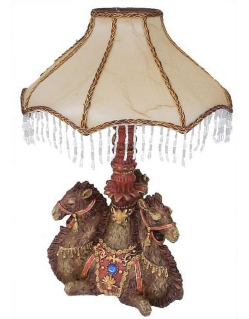 H.Originals Drie kamelen lamp