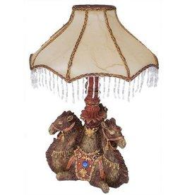H.Originals Drie kamelen lamp 46 X 33 CM 1 assortiment