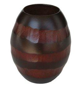 H.Originals Mangowood waxine houder 8 X 7 CM 1 assortiment