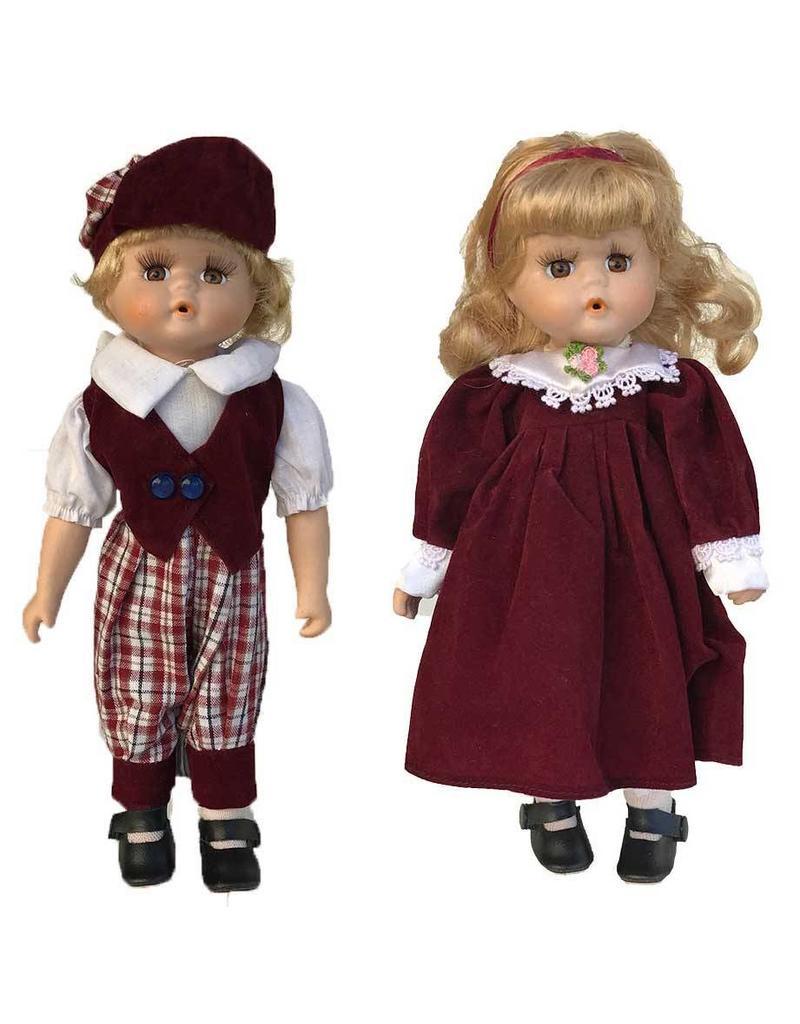 H.Originals Boy + Girl pop rood 30 X 10 CM 2 assortiment