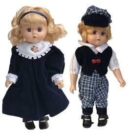 H.Originals Pop boy + girl blauw 30 X 9 CM 2 assortiment